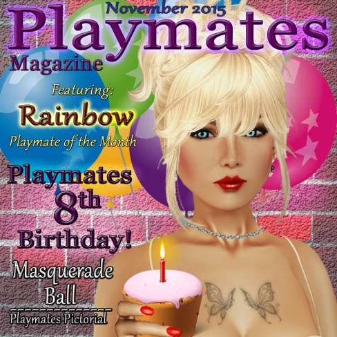 Playmates Magazine November Cover